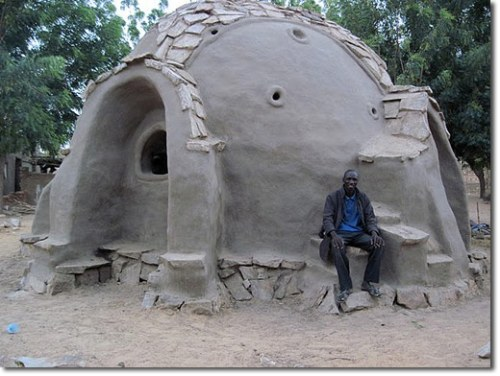 Earthen Hand Dome in Mali