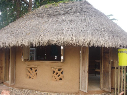 Thai Adobe House