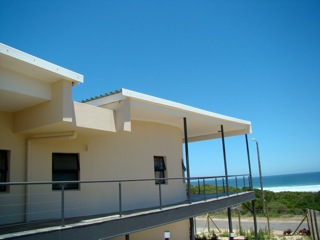 Cape Footprints: earthbag rental house in Kleinkranz, South Africa