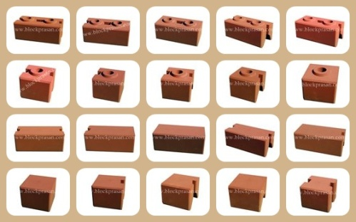 Sample CEB Block Shapes (many more available)