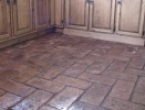 Cheap and Easy Brick Floors