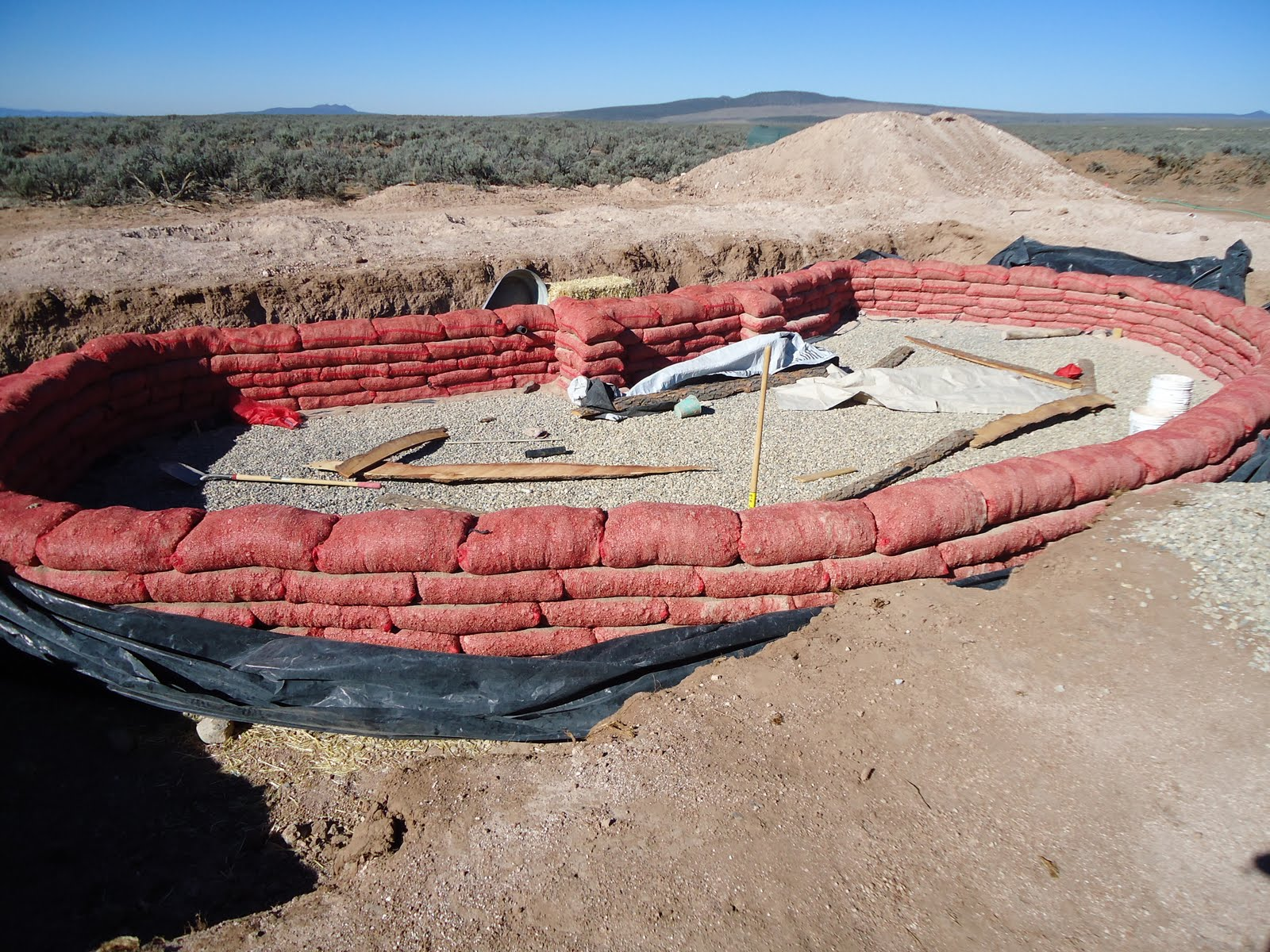 Building An Earthbag Home in Northern New Mexico