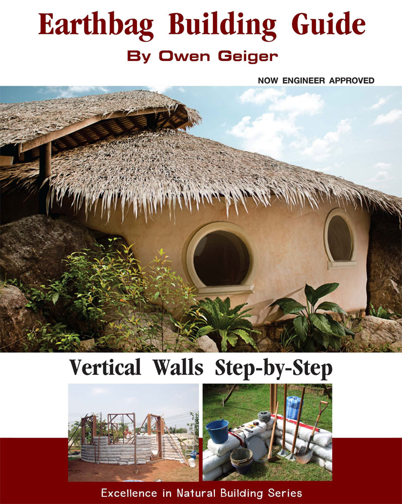 Earthbag house plans small affordable sustainable for Home building guide