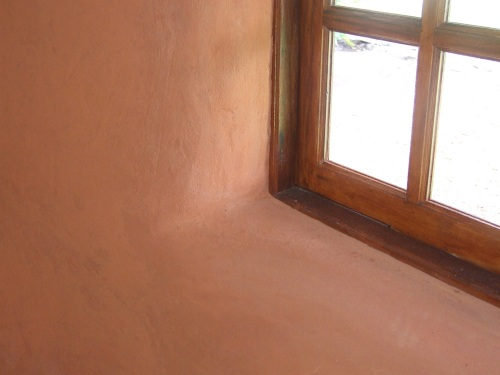 Curved edges around a window (click to enlarge)