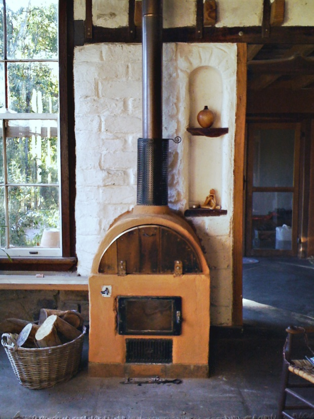 wood stove house plans
