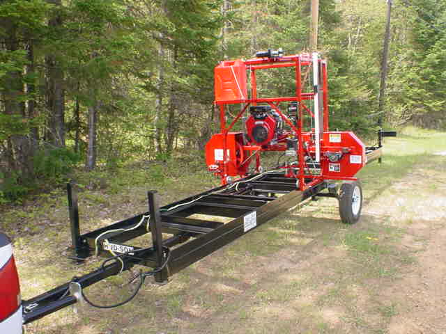 Portable Sawmill: Business Industrial eBay