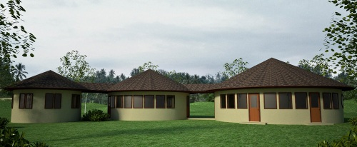 Three Roundhouses Design (click to enlarge)