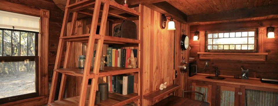 Tiny Texas Houses builds homes with 99% recycled materials