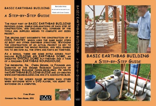 Basic Earthbag Building: A Step-by-Step Guide will be available soon. (click to enlarge)