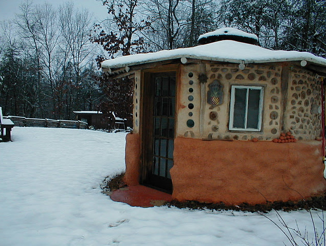 hobbit house shed | natural building blog