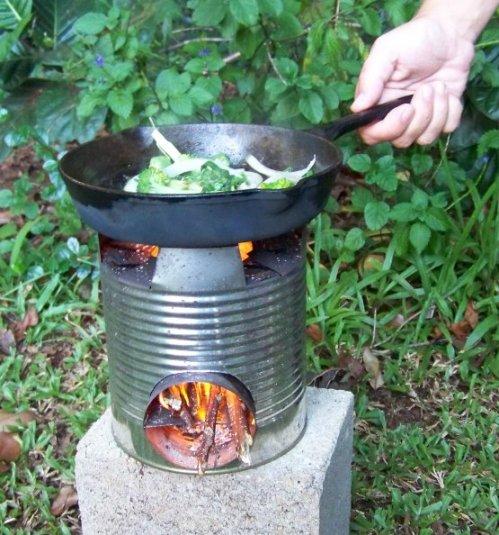 Rocket stove
