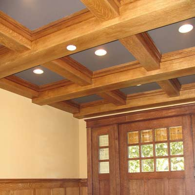 how to build box beam ceiling