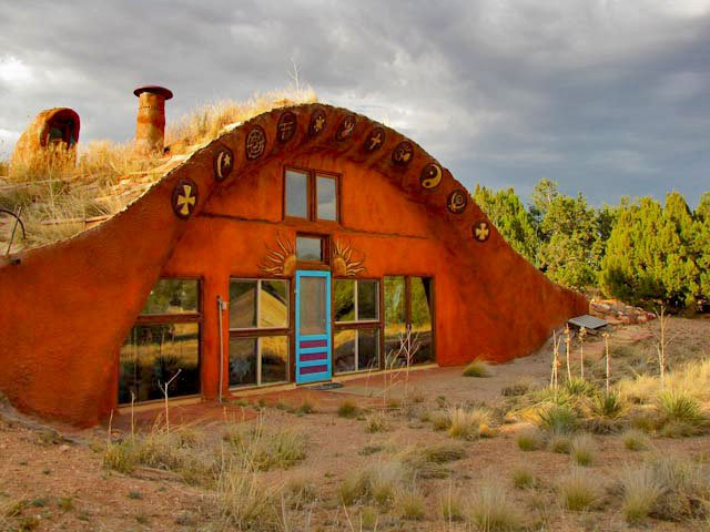 Cody lundin s zero energy home natural building blog for Building a house in arizona