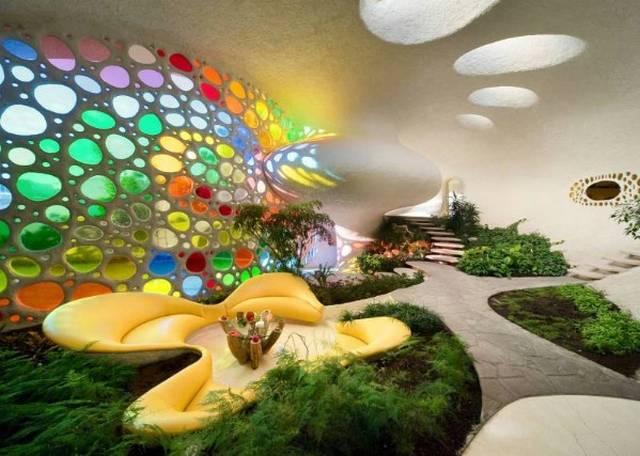 Decorative ferrocement natural building blog for Nautilus garden designs