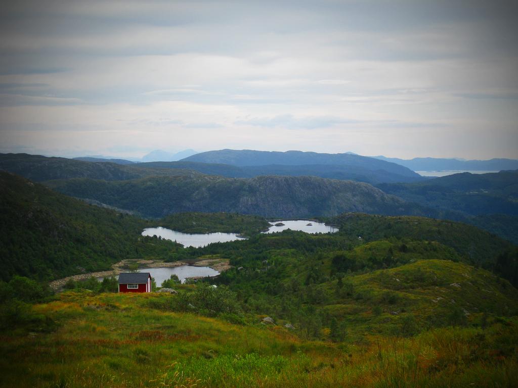 Shack on Ulriken near Bergen, Norway. (click to enlarge)