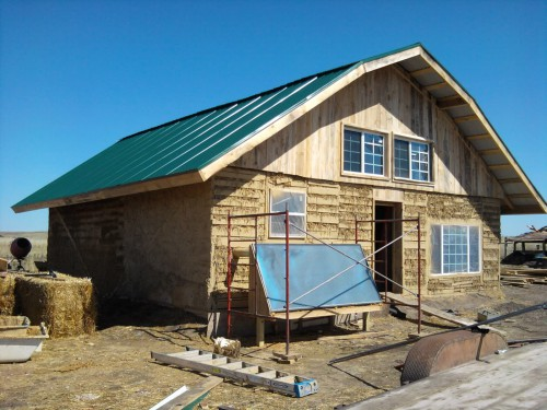 Pallet home by Texas Natural Builders