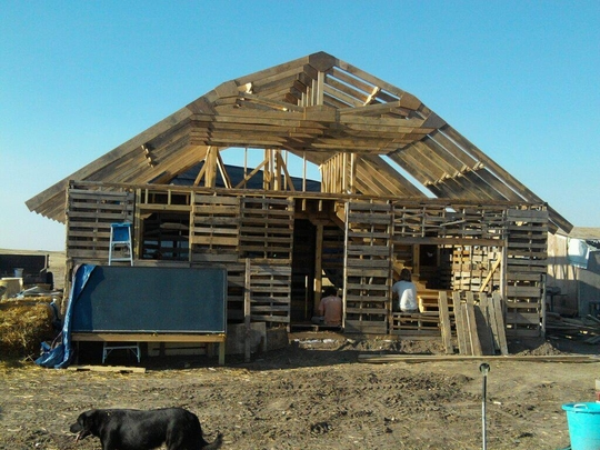 Pallet houses natural building blog for Houses to build