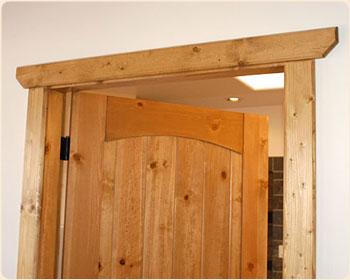 Merveilleux Rustic Western Door Casing With U0027clipped Cornersu0027