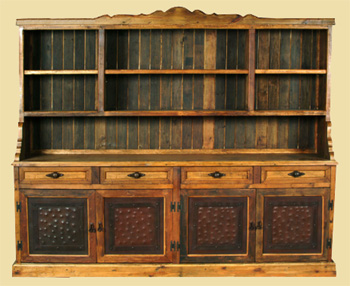 Rustic cabinet by Cactus Creek