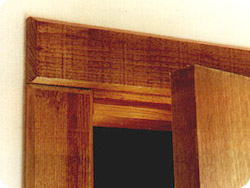 Rustic Trim With Double Beveled Edges