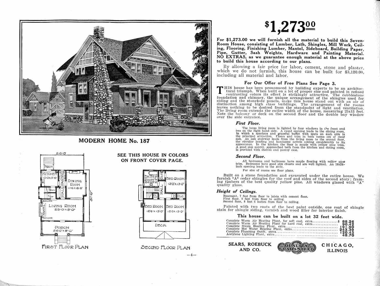 Sears Catalog Homes – Sears Homes Floor Plans