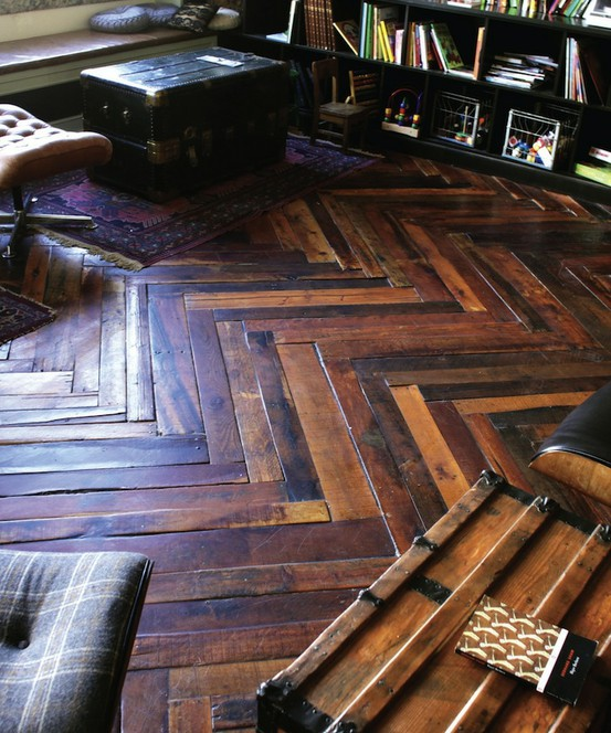 Pallet Wood Flooring Natural Building Blog