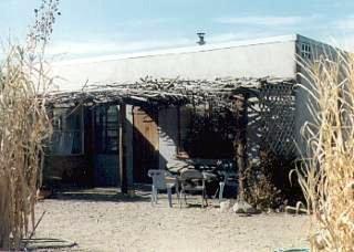 Stephen and Nena MacDonald's post and beam strawbale house