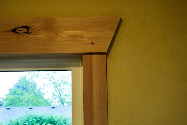 Wood Window Casing : Images about no trim around window on pinterest