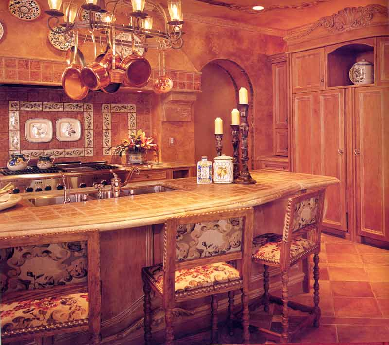 Classic kitchen (click to enlarge)