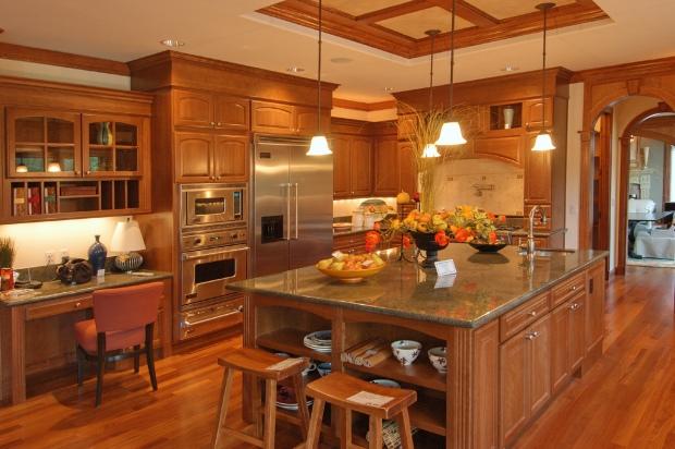wood plans kitchen