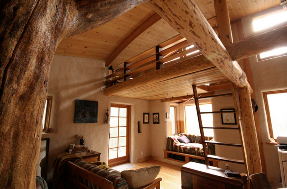 Sarah raisel s photostream natural building blog for How to build a timber frame house