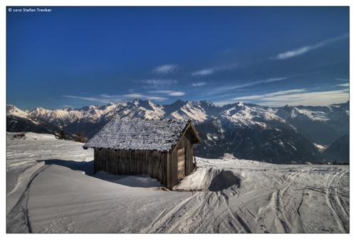 Ski huts along trails provide winter shelter