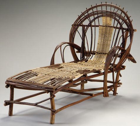 Twig furniture by Andrew Gardner
