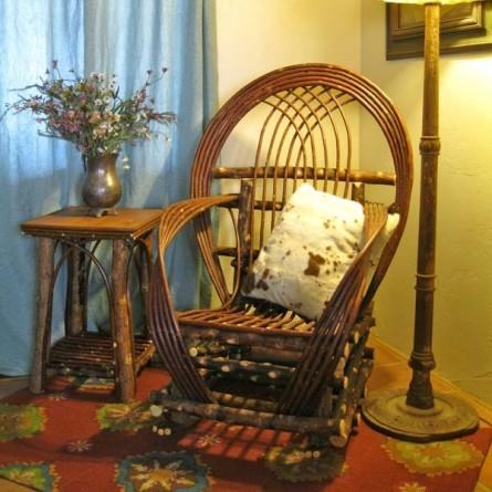 Rustic Twig Furniture  Natural Building Blog