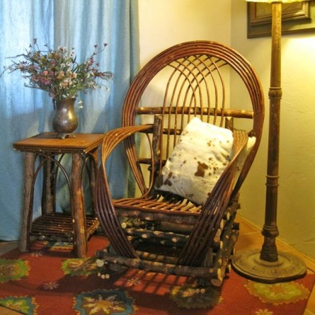 Twig rocking chair