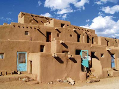 Vernacular Architecture on Vernacular Architecture Of Taos Pueblo  New Mexico