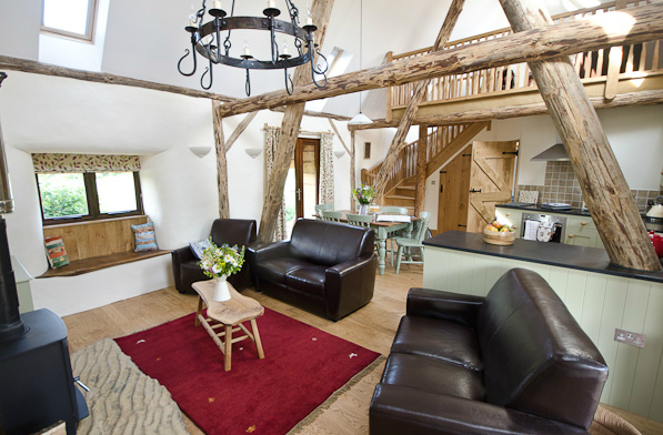 Withyfield Cottage interior by Ben Law