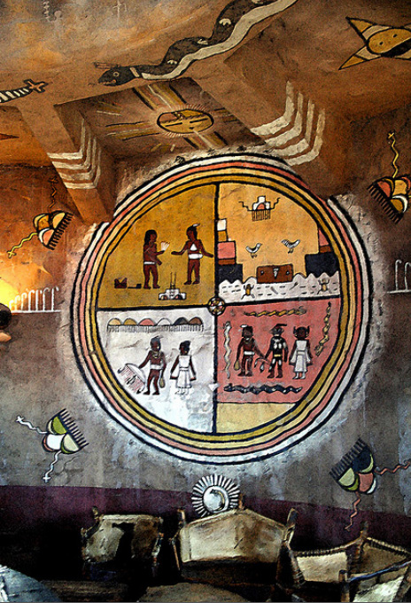 Kabotie Mural in Desert View Watchtower