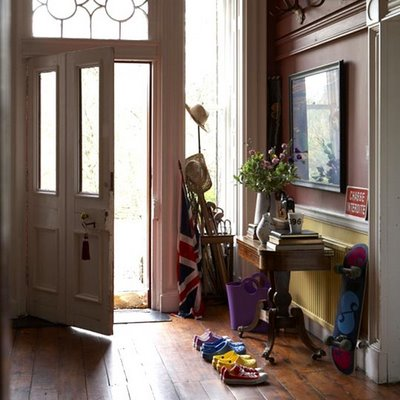 Nice entryway on traditional home