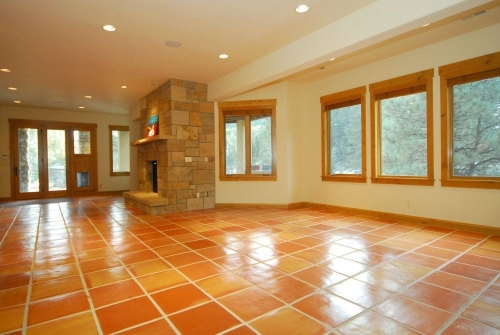 Saltillo floor tile (click to enlarge)